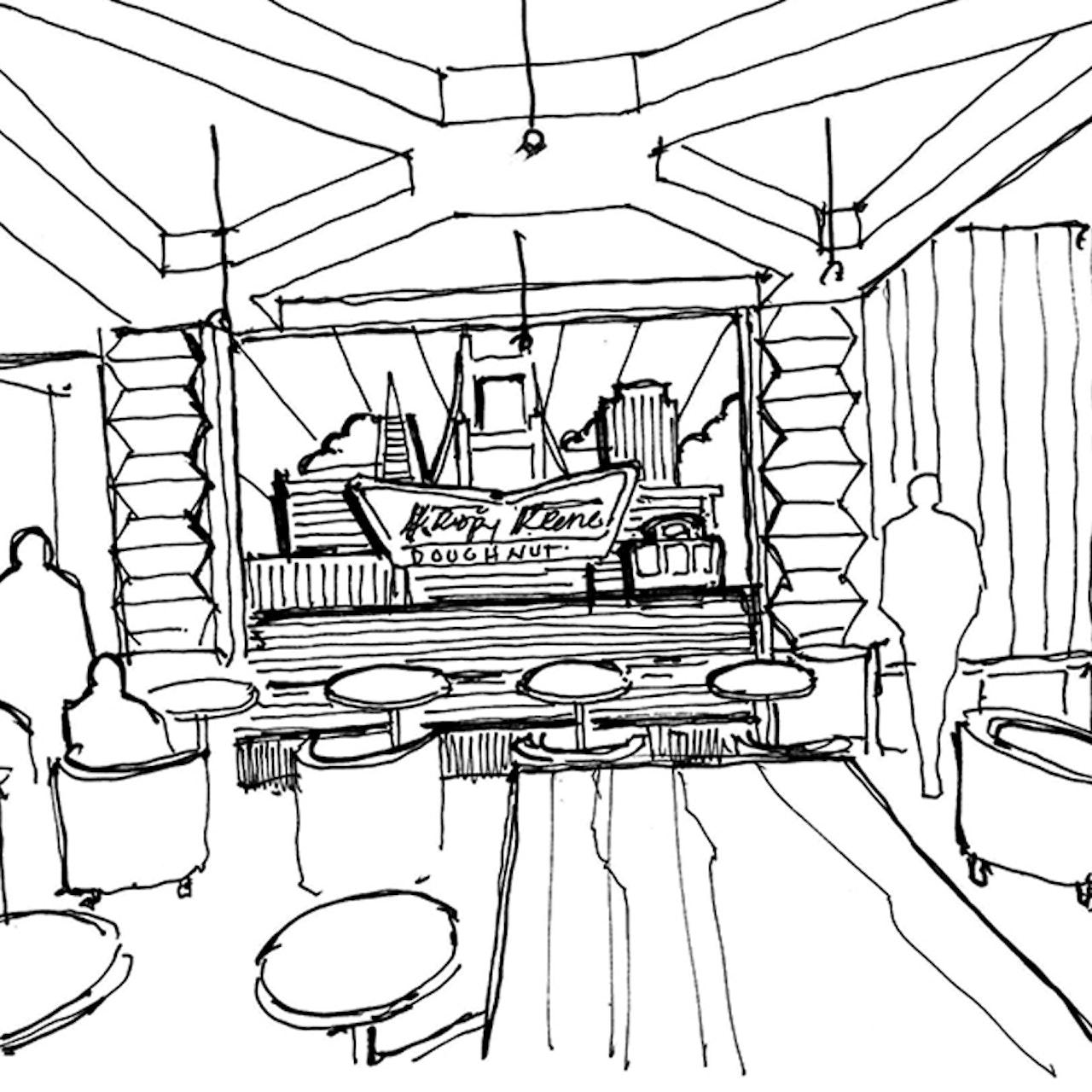 Krispy Kreme Sf Sketch01 800X800